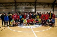 El club amarillo participó en un día histórico para el municipio jiennense. Foto: Jaén FS.