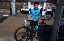 El jiennense Luis López logra el tercer puesto en la Vuelta a Córdoba BTT Kids