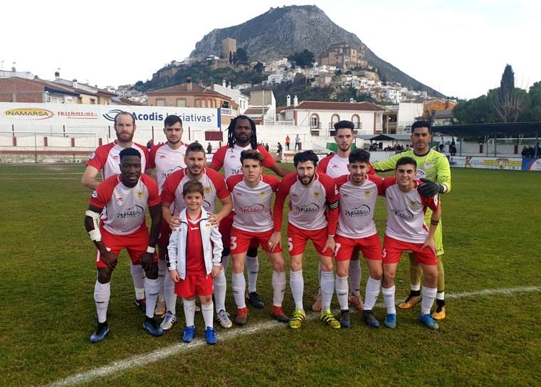 El Martos logró la victoria en casa frente al Melilla.