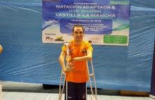 Martínez Tajuelo se cuelga dos oros y una plata en el Open de Natación Adaptada