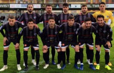 El equipo malagueño arañó un punto en el Matías Prats. Foto: Antequera CF.