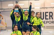 Unicaja Atletismo, campeón femenino de Andalucía sub-14 en Pista Cubierta por equipos