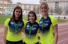 El Unicaja Atletismo logra ocho medallas en el Campeonato de Andalucía de lanzamientos largos sub'18 y sub'20