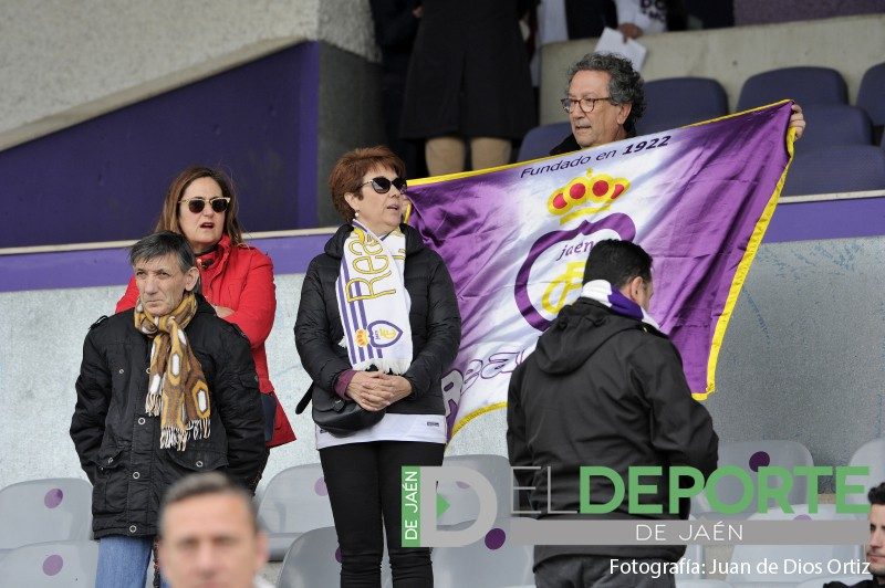 Aficionados del Real Jaén CF en La Victoria