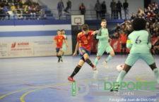 España sub-19 vence a Portugal en Baeza con un gran Antonio Pérez