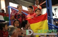 La afición en Baeza (España – Portugal)