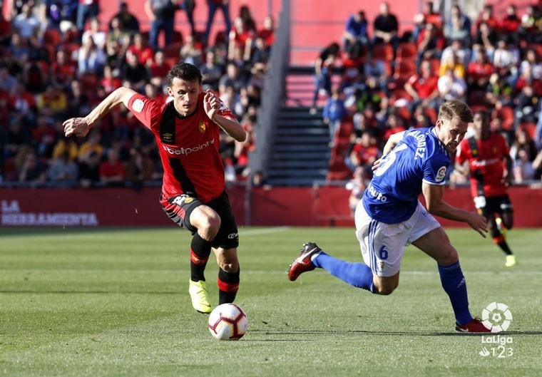 El Real Oviedo no pudo sumar en su visita a Mallorca.