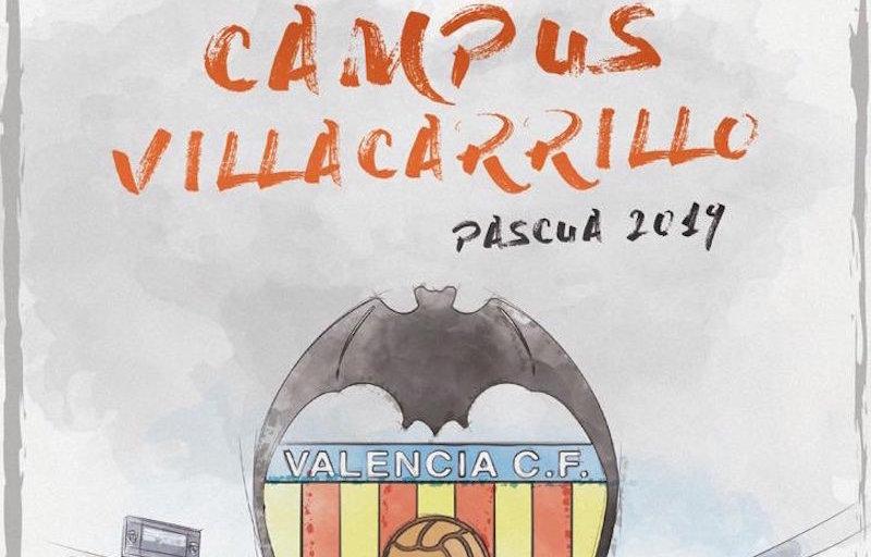 "Cartel del ""Campus Villacarrillo Pascua 2019"""