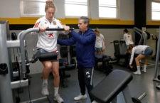 Celia Jiménez participará con España en los amistosos ante Brasil e Inglaterra. Foto: Sefutbol.
