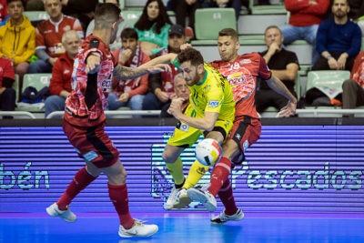 El partidazo del Jaén FS en Murcia acaba en empate