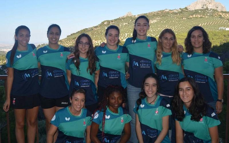 Jugadoras del equipo Hujase Jaén