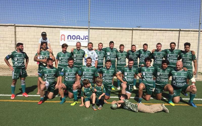 Formación del equipo de Jaén Rugby