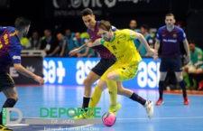 El jugador del Jaén FS, Alan Brandi, convocado con la selección argentina