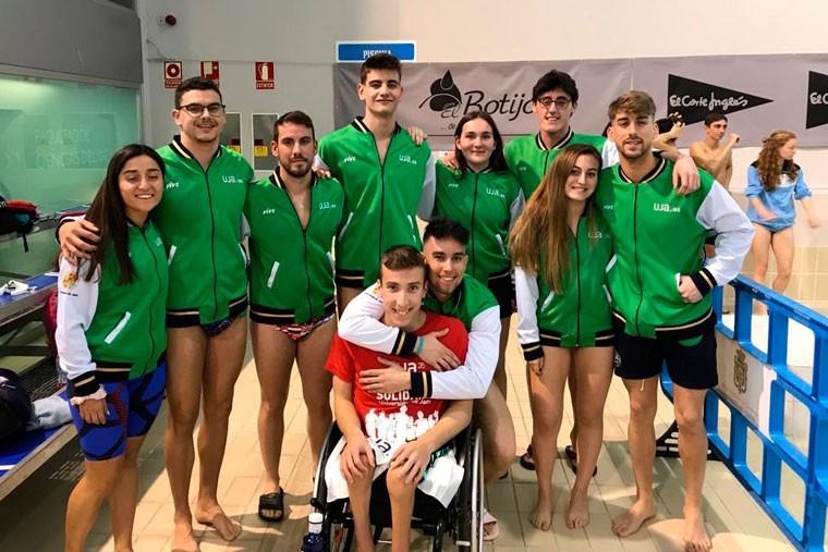 El equipo jiennense participó en los campeonatos universitarios.