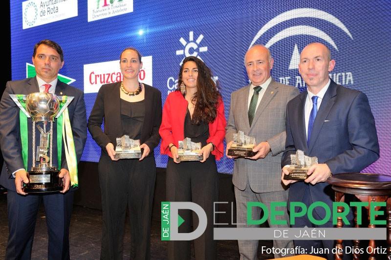 Jiennenses premiados en los Premios de los Periodistas Deportivos de Andalucía