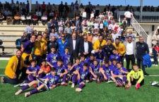 La selección infantil de Jaén, subcampeona del Andaluz de fútbol