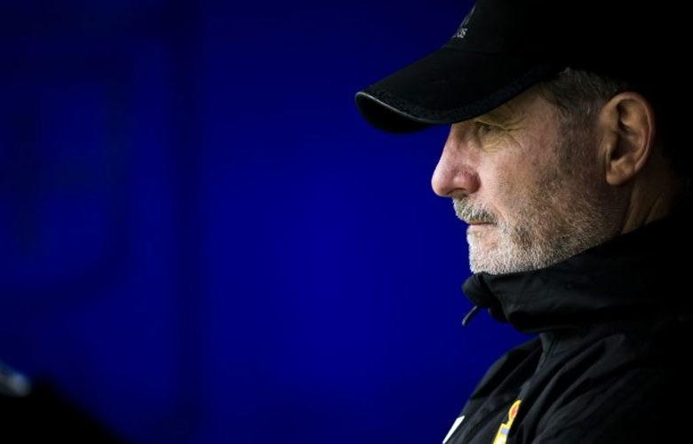 Anquela cierra su etapa como entrenador oviedista. Foto: R. Oviedo.