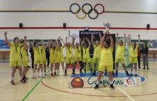 Título provincial para las chicas del CAB Linares. Foto: FAB Jaén.