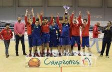 Un título más a la vitrina del CB Andújar. Foto: FAB Jaén.