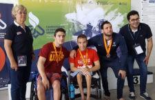 Gran resultado de los nadadores jiennenses. Foto: UJA.
