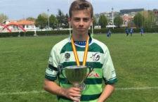 Subcampeonato para la selección andaluza de rugby sub-14. Foto: FAR.