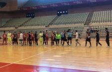 Emilio Buendía hizo el tanto del empate definitivo. Foto: Mengíbar FS.