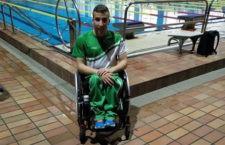 Una plata y dos bronces para el nadador jiennense. Foto: CN Santo Reino.