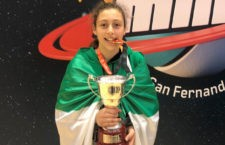 Medalla de oro para la jugadora del CB Andújar. Foto: FAB Jaén.