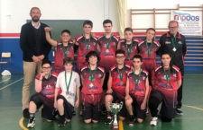 El equipo linarense se proclamó campeón provincial. Foto: FAB Jaén.