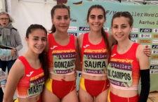 Marta Martínez finalizó como segunda mejor española. Foto: RFEA.