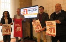 Mengíbar celebra la primera edición de su media maratón. Foto: Diputación de Jaén.