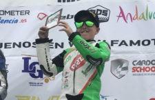 Nano Calahorro suma su primera victoria con el Deza Box 77 Racing Team