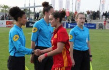 La ubetense Noelia Correro disputó dos encuentros con la Selección