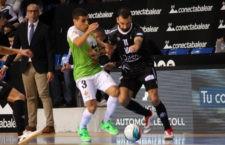 Dura derrota del Jaén FS en Son Moix. Foto: Palma Futsal.