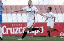 Importante triunfo del Sevilla FC de Raquel Pinel. Foto: La Liga.