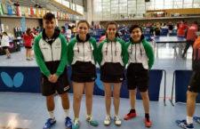 Castellano y Chenoll, campeones de España de deportes escolar en tenis de mesa