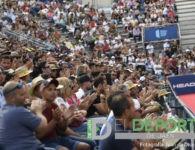 La afición en el Jaén Open 2019