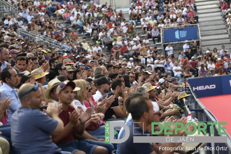 Aficionados en las gradas del Jaén Open 2019