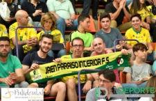 La afición en La Salobreja (Jaén FS – Osasuna Magna)