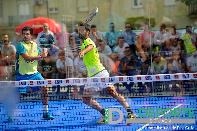 Antonio Luque y Diogo Rocha en el Jaén Open 2018