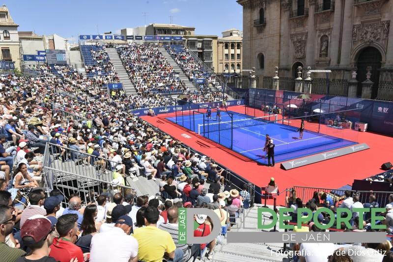 Pista central del Jaén Open 2019