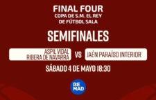Be Mad y Cuatro retransmitirán la Final Four de la Copa del Rey de fútbol sala