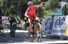 Carrasco finaliza la penúltima etapa en segundo puesto. Foto: Deportinter.