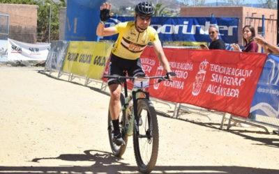El ciclista jiennense repite triunfo. Foto: Deportinter.