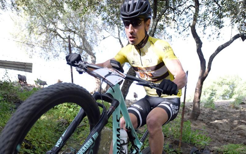José Luis Carrasco en la etapa de la Vuelta a Andalucía MTB 2019