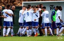 El filial chicharrero, rival del Linares Deportivo. Foto: CD Tenerife.