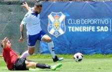 El filial tinerfeño, rival del Linares Deportivo. Foto: CD Tenerife.