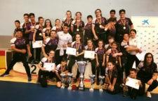 Buen resultado para los jóvenes luchadores jiennenses. Foto: Club Power Torredelcampo.
