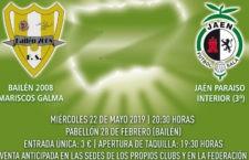 Bailén 2008 y Jaén FS B disputarán la final de la V Copa Presidente