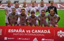 Empate sin goles entre España y Canadá. Foto: SeFutbolFem.